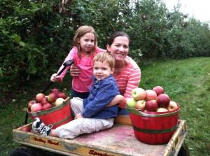 Apple Picking in Hendersonville!